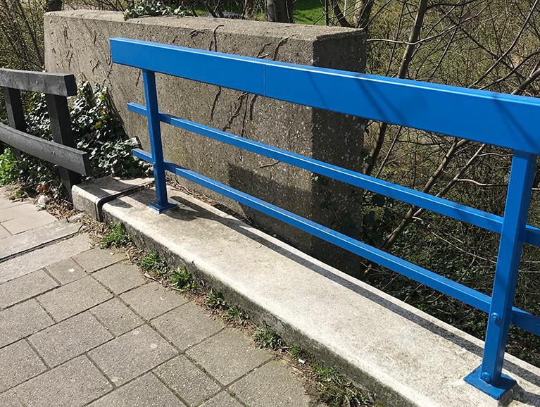 Zoetermeers Blauw hekwerk