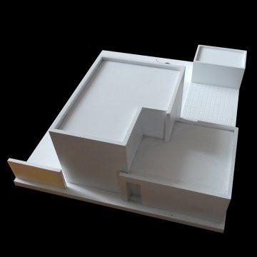 Alcuin Olthof maquette praktijkwoning